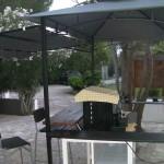 Area ristoro del residence maddalena