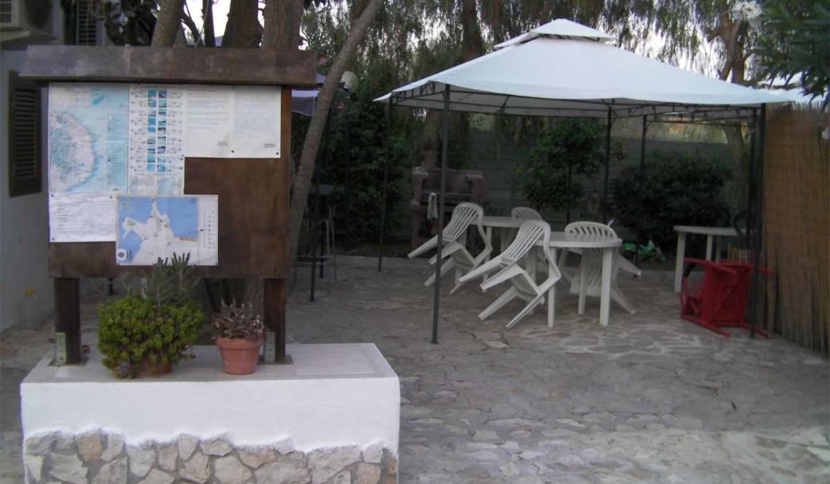 bacheca area barbecue e area ristoro
