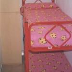 Cameretta con letto a castello appartamentino, casa vacanza in puglia nel residence maddalena,gargano a vieste