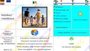 sito web dal 2003 al 2006 garganoresidence.it delle case vacanza residence maddalena situate in puglia nel gargano