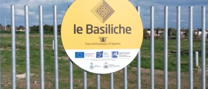 Parco archeologico di Siponto a Manfredonia