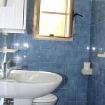 bagno con doccia, residence maddalena