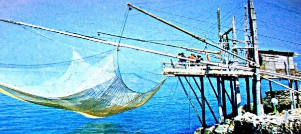 Antichi arnesi da pesca